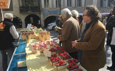 Cooking in Uzès- from market to table!